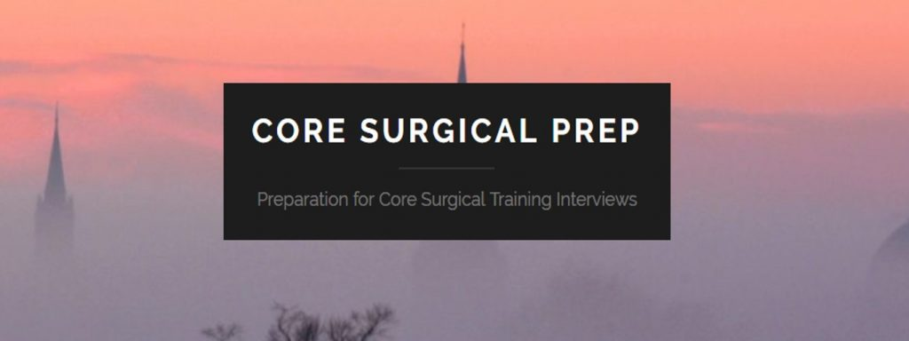 core surgical training 2019 core surgical training application 2019